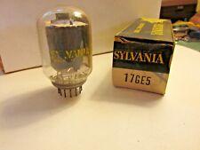 Vintage Sylvania 17GE5  TV Electronic Tubes  Old Stock FREE SHIPPING
