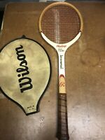 Vintage Tennis Racquet Racket Billy Martin All-American Rawlings T710 Wooden