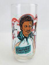 Vtg Star Wars 1980 EMPIRE STRIKES BACK Lando  Burger-King Coca-Cola Glass  Leia