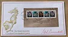 WELSH ASSEMBLEY 2006 BUCKINGHAM FDC SIGNED BY THE WELSH POLITICIAN NEIL KINNOCK
