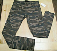 SANCTUARY women's camoflage green slim fit chino pants size 26, brand new $99