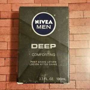 Nivea Men Deep Comforting Post Shave After Shave Lotion Soothes Moisturize New