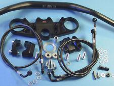 Abm Superbike Booster Lenker-Kit Aprilia SL 1000 Falco (Pa) 00-ff Nero