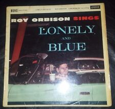"ROY ORBISON ""SINGS LONELY AND BLUE"" UK PRESS MONO LONDON HA-U 2342"