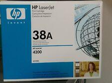 HP 38A Toner Cartridge, Black - 1-pack