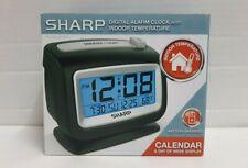 Sharp Lighted Alarm Clock SPC293 with Indoor Temp Display & Date
