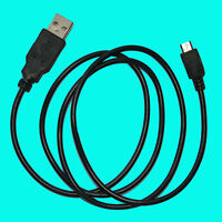 Power Mini-USB Audio Cable Cord for Logitech Laptop Netbook Speaker Z205 Z-205