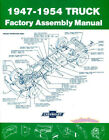 CHEVY TRUCK ASSEMBLY MANUAL GMC BOOK RESTORATION PICKUP TO RESTORE FACTORY 47-54