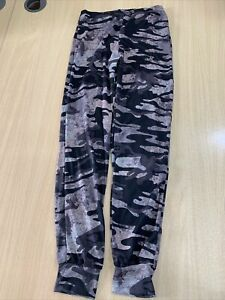 New Look Ladies Camouflage Print Joggers Trousers Size 10 B179