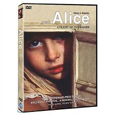 Alice, Neco z Alenky / Jan Svankmajer, Kristýna Kohoutová (1988) - DVD new