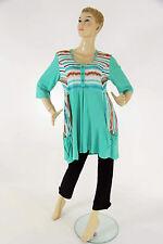 Locker sitzende 3/4 Arm Damenblusen, - tops & -shirts im Tuniken-Stil MAGNA