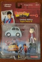 "Lupin & Pullback ChoroQ Limited Edition Figure With Stand 2""  NEW"