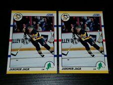 1990 SCORE TRADED JAROMIR JAGR CARD# 70T (2) CARD LOT