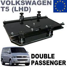 Doubles sièges pivotants pour utilitaires et camping-cars VW T5 Kiravans conduit
