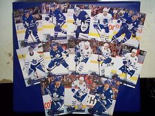 2016-17 UPPER DECK SERIES 1 & 2 TEAM SET - TORONTO MAPLE LEAFS