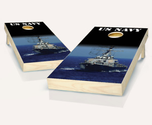 Navy Ship Cornhole Boards - The Perfect Christmas Gift