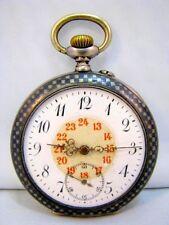 Niel Hf orologio da tasca regula Tula ARGENTO 800 Pocket Watch per 1910