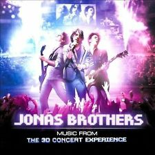 Jonas Brothers - Music from the 3D Concert Experience (CD, Feb-2009, Hollywood