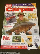 CRAFTY CARPER - TARGET BIG CARP - JULY 2004 # 83