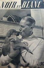 MAURICE CHEVALIER en COUVERTURE de NOIR et BLANC No 239 DE 1949