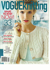 VOGUE KNITTING,  EARLY FALL, 2013  ( WHAT TO KNIT NOW ! * 33 GREAT KNITS FOR