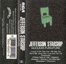 Jefferson Starship - Nuclear Furniture (Cassette, 1984 RCA)