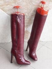 Bottes Vintage  SCARPINO  -  Bordeaux  -      T .34,5