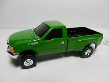 ERTL 1:64 *GREEN* Ford F-350 Super Duty DUALLY Pickup Truck w/Hitches *NEW!*