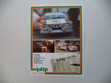 advertising Pubblicità 1983 TOTIP e LANCIA RALLY 037