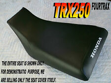 TRX250 Fourtrax 1985-87 Replacement seat cover Honda TRX 250 Black  315A