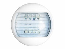 Navigation light - Stern light - Led 12 volt round stern light 65X40mm BC 3701