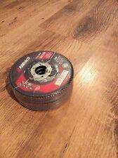 5 x Abracs Flap Disc (F29) 115MM X 22.23MM Z120 Grit (L698)