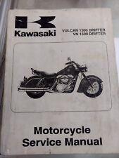Kawasaki Vulcan 1500 Drifter VN 1500 USED Service Manual 99924-1246-01