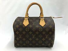 "Auth Louis Vuitton Vintage Monogram Speedy 25 Hand Bag 0L020060n"""