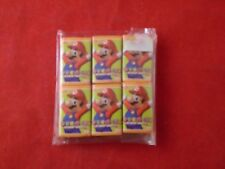 6 Pack of Mini Mario Party Japanese Candy Nintendo *SEALED*