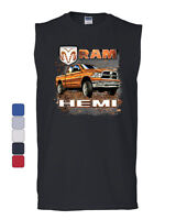 Dodge Ram Hemi Muscle Shirt Dodge Truck Offroad Licensed