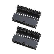 2 Teiliges Motherboard 24 poliges Netzteil 90-Grad für die Desktop PC Versorgung