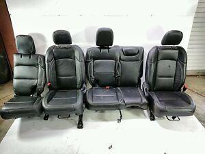 18 Jeep Wrangler Unlimited JL Front Rear Left Right Seat Set Katzkin Leather