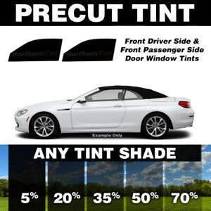 Precut Window Tint for Infiniti G37 Convertible 09-13 (Front Doors Any Shade)