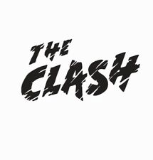 "V441 The Clash Sticker Vinyl Decal Punk Rock Car Window Choose 6/"" To 24/"""