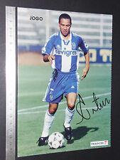 CARTE OS CRAQUES D'O JOGO PORTUGAL 1996-1997 FOOTBALL FUTEBOL ARTUR FC PORTO