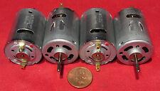 4 pcs Mabuchi Motor RS-380SH-4535, 3V-6V DC 18,000 RPM Vacuum Robot Car RC Hobby