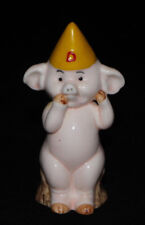 "Danbury Mint Piggies ""Pig Ignorant"" Pig Figurine 1 of 25 Pig Statue Piggies"