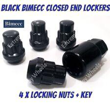 12x1.5 BULLONI PER TOYOTA SUPRA MK4 93-02 BLACK WHEEL NUTS /& LOCK 16 +4