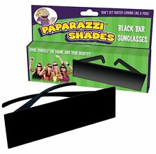 Blackbar Sunglasses - Paparazzi ~ Hide Your Identity Online in Party Pictures!