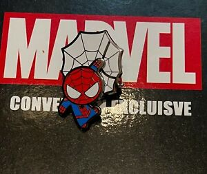 Marvel Fan Expo Exclusive Pin Set SPIDER-MAN 3D Raised Pin Limited Edition