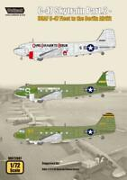 Wolfpack 1/72 decal C-47 Skytrain Pt 2 USAF C-47 Fleet to the Berlin Airlift