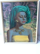 BALINESE GIRL TRETCHIKOFF CP PRODUCTIONS RETRO 60'S 70'S