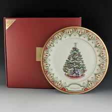 Lenox China Spain 2008 Annual Christmas Trees Around the World Collector Plate