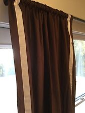 Pair of Pottery Barn Teen panel curtains